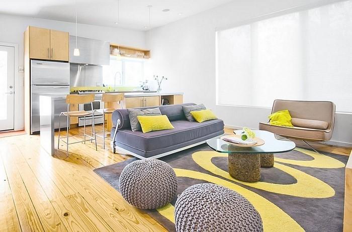 Wohnzimmer Ideen Bilder 100 Verblffende Mit Gelb