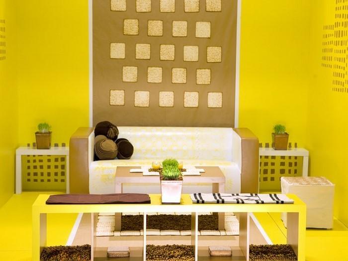 Wohnzimmer-Ideen-mit-Gelb-Eine-kreative-Gestaltung