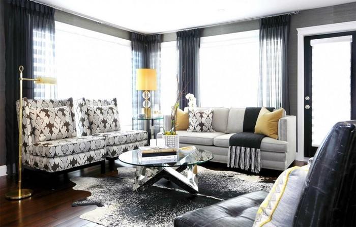 Wohnzimmer-Ideen-mit-Gelb-Eine-moderne-Entscheidung