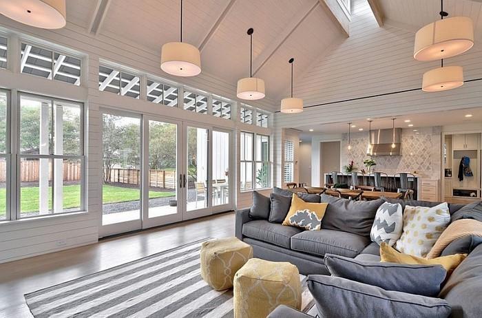 Wohnzimmer-Ideen-mit-Gelb-Eine-moderne-Gestaltung