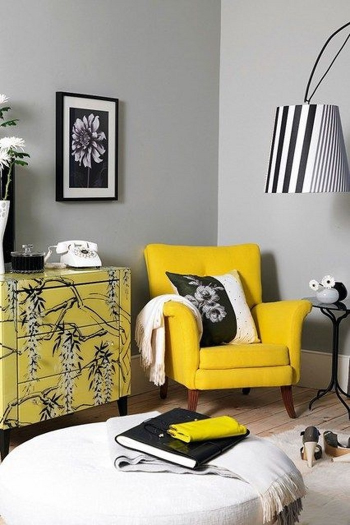 Wohnzimmer-Ideen-mit-Gelb-Eine-super-Atmosphäre