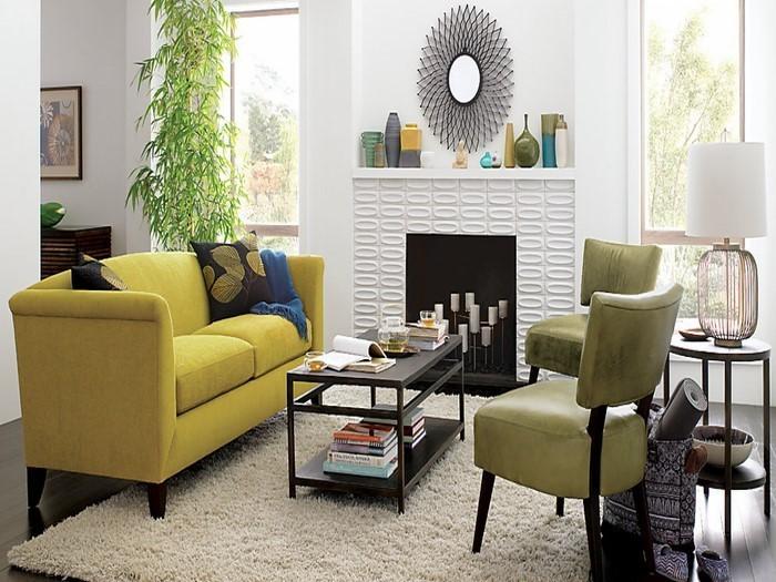 Wohnzimmer-Ideen-mit-Gelb-Eine-super-Ausstattung