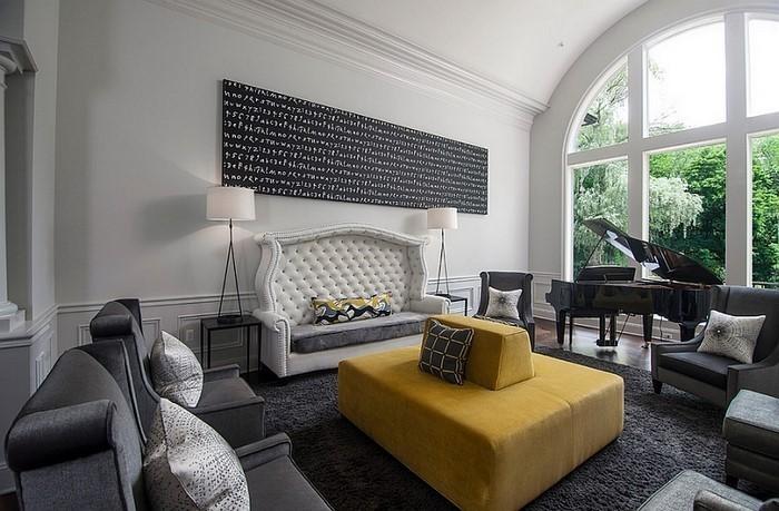 Wohnzimmer-Ideen-mit-Gelb-Eine-super-Dekoration