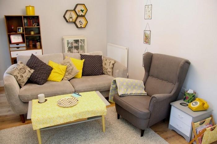 Wohnzimmer-Ideen-mit-Gelb-Eine-tolle-Ausstattung