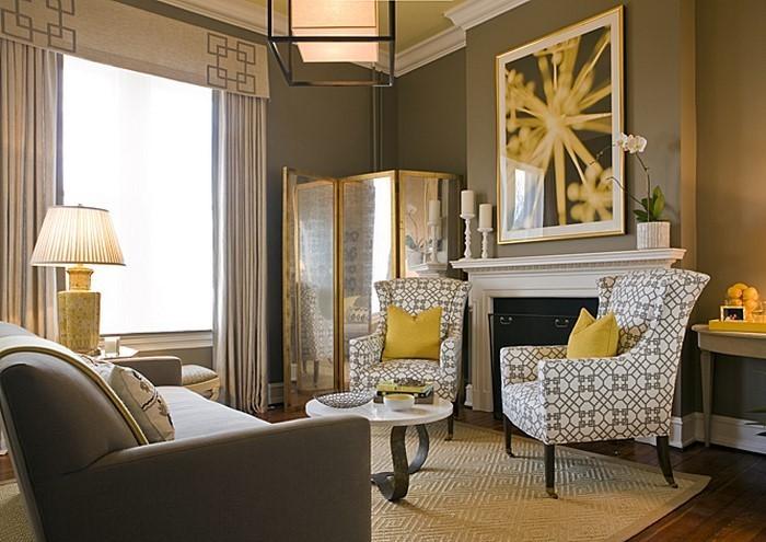 Wohnzimmer-Ideen-mit-Gelb-Eine-tolle-Ausstrahlung