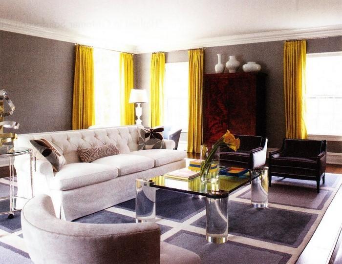 Wohnzimmer-Ideen-mit-Gelb-Eine-tolle-Gestaltung