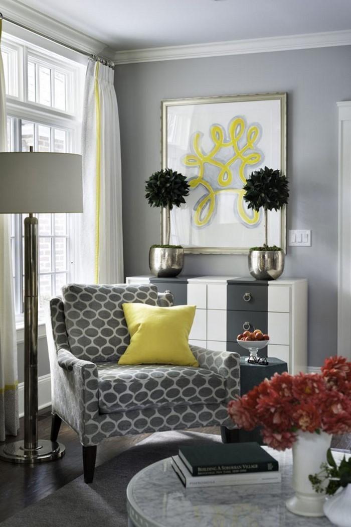 Wohnzimmer-Ideen-mit-Gelb-Eine-verblüffende-Ausstattung
