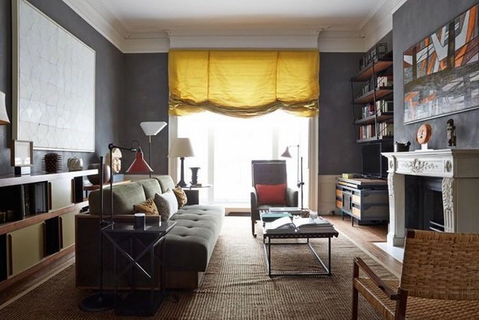 Wohnzimmer-Ideen-mit-Gelb-Eine-verblüffende-Ausstrahlung