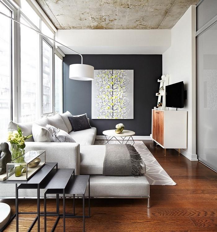 Wohnzimmer-Ideen-mit-Gelb-Eine-verblüffende-Deko