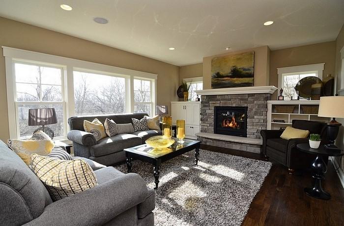 Wohnzimmer-Ideen-mit-Gelb-Eine-verblüffende-Entscheidung