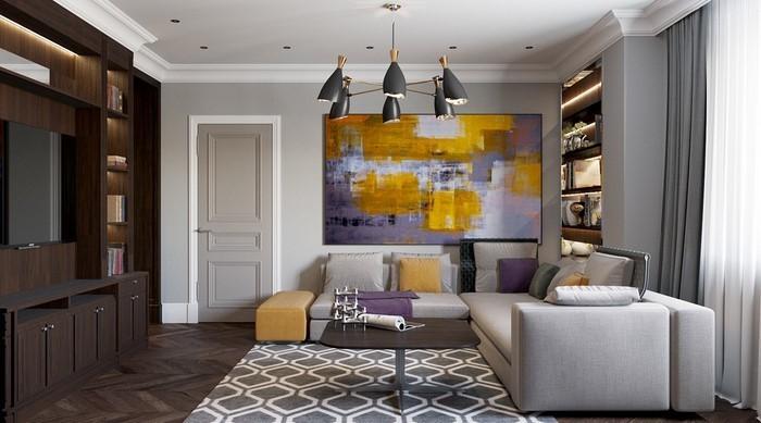 Wohnzimmer-Ideen-mit-Gelb-Eine-wunderschöne-Entscheidung