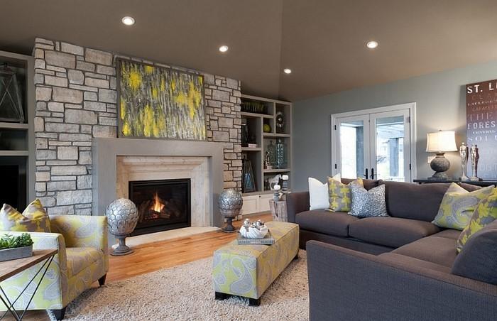 Wohnzimmer-Ideen-mit-Gelb-super-Entscheidung