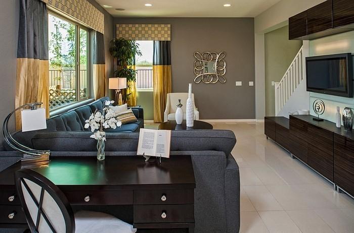 Wohnzimmer-Ideen-mit-Gelb-verblüffende-Entscheidung