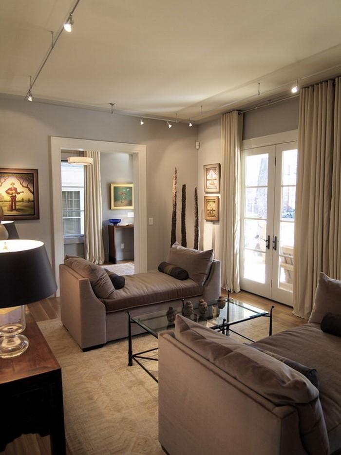 Wohnzimmer-in-braun-Ein-außergewöhnliches-Design