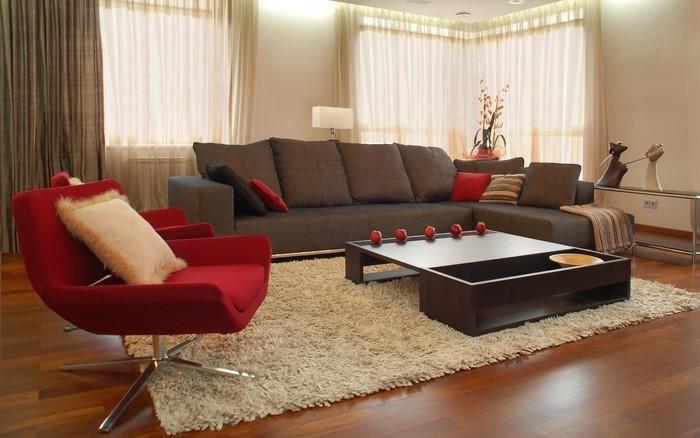 design : wohnzimmer braun beige grün ~ inspirierende bilder von ... - Farbgestaltung Zu Braun Beige