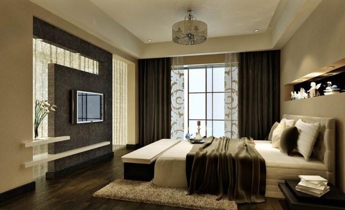 Wohnzimmer-in-braun-Ein-super-Interieur