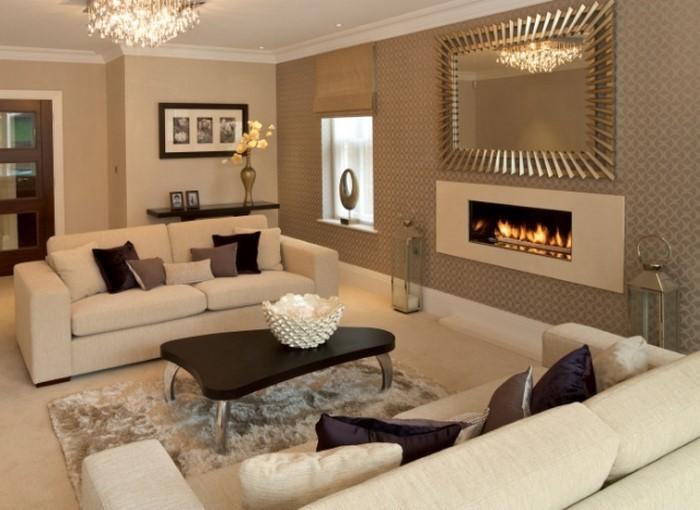 Wohnzimmer Farbideen Braun Haus Design M Bel Ideen Und