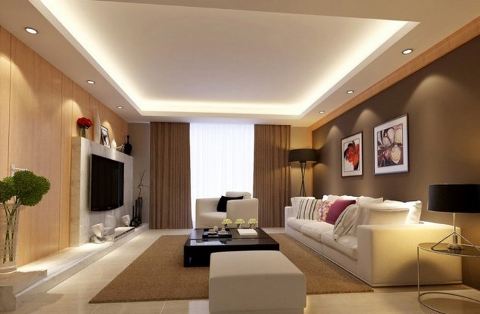 Wohnzimmer-in-braun-Eine-außergewöhnliche-Ausstrahlung