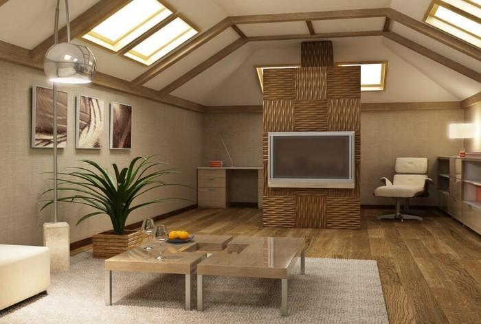 Wohnzimmer In Braun: 50 Tolle Wohnideen Für Das Wohnzimmer ...