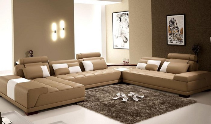 wohnzimmer in braun eine kreative ausstattung - Wohnzimmer Braun