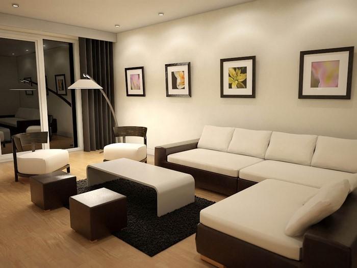 wohnzimmer in braun eine tolle ausstattung - Wohnzimmer Braun
