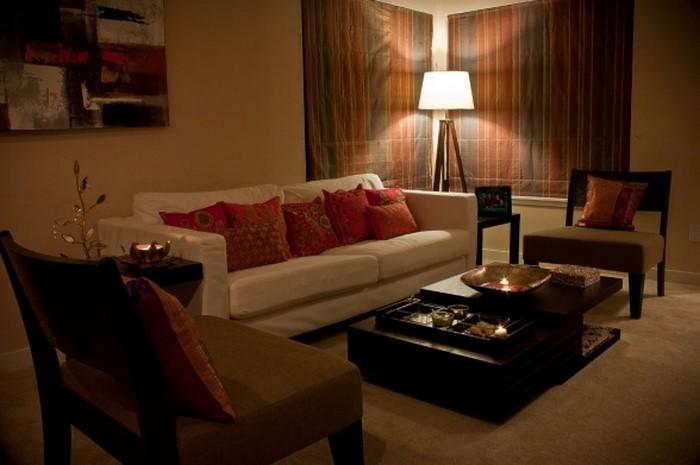 Wohnzimmer-in-braun-Eine-wunderschöne-Ausstrahlung