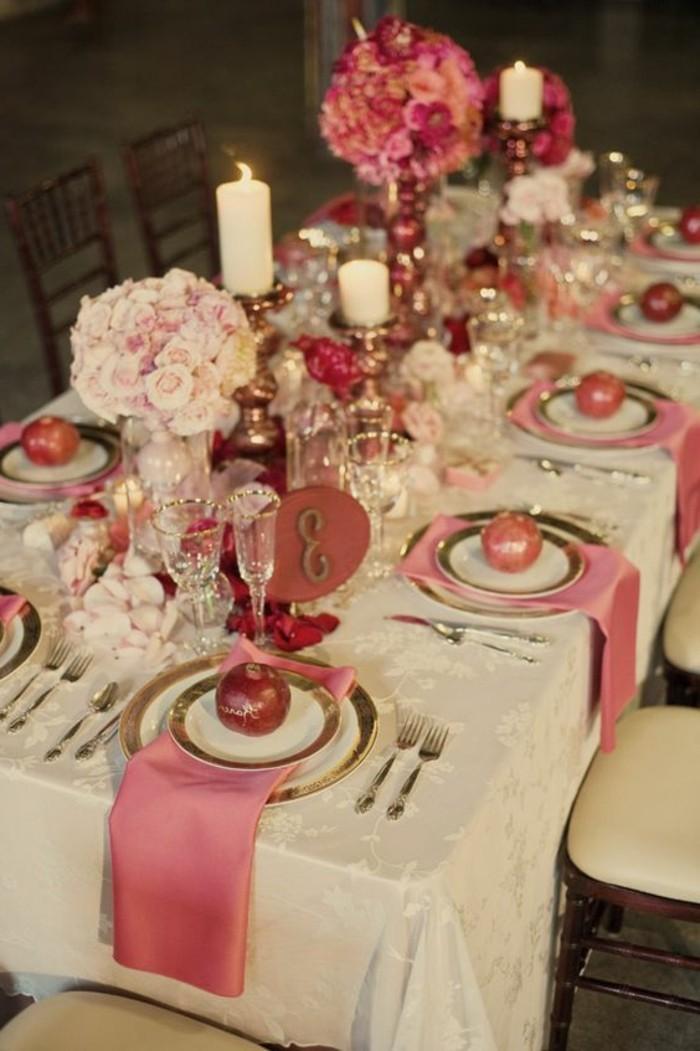 ausgefallene-Tischdeko-Hochzeit-mit-Granatäpfel