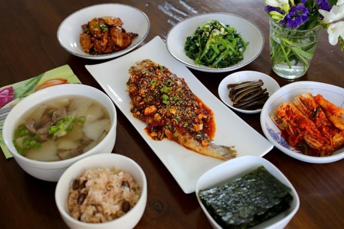 ausgefallene-Tischdeko-aus-der-Korea-Küche