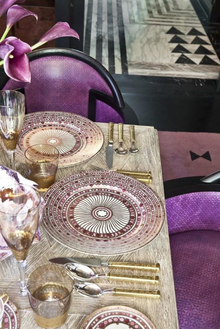 ausgefallene-Tischdeko-mit-faszinierenden-Teller