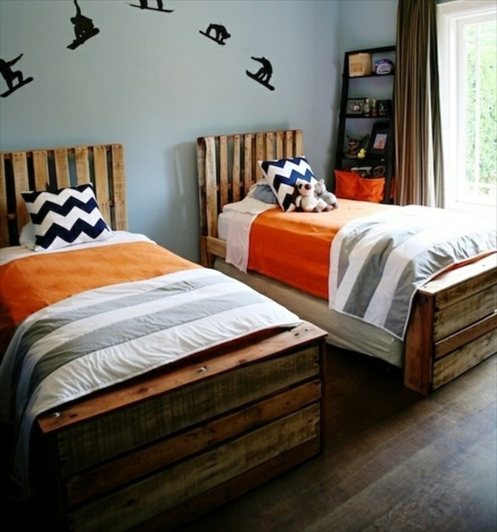 doppelbett selber bauen good interessant bett selber. Black Bedroom Furniture Sets. Home Design Ideas