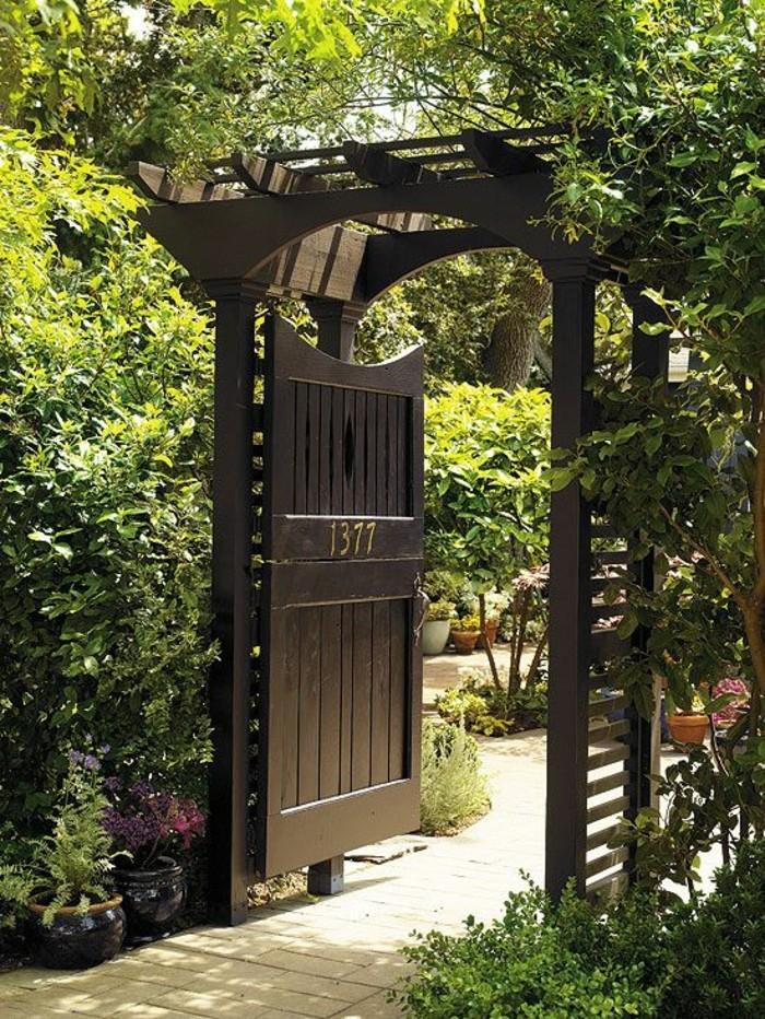 46 Erstaunliche Pergola Gartentor Vorschl 228 Ge Archzine Net