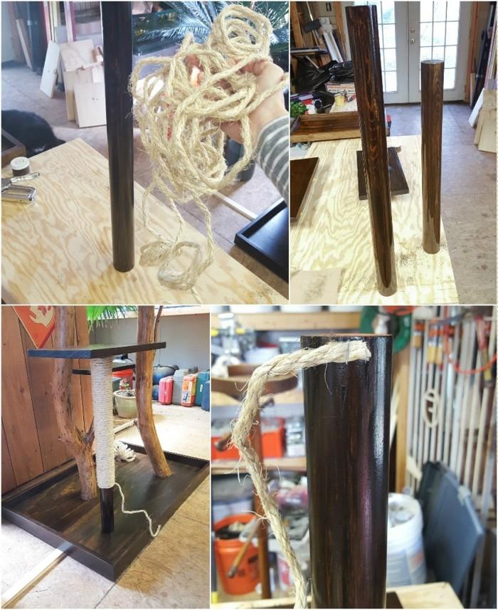 kratzbaum selbst gebaut with kratzbaum selbst gebaut top kratzbaum naturholz selber bauen. Black Bedroom Furniture Sets. Home Design Ideas