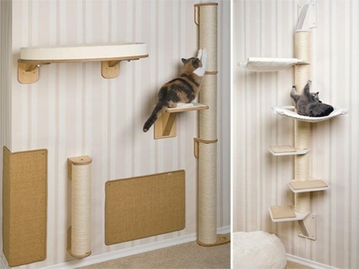 katzen kletterwand selber bauen