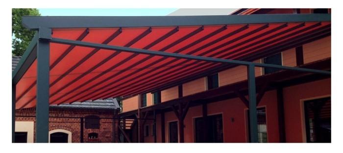 Gartenmobel Aus Holz Rustikal : rote farbe kunststoff leiner pergolamarkise spezialist