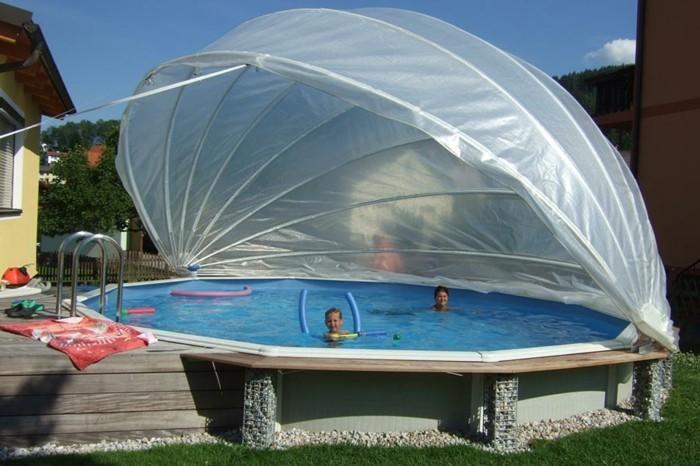 die richtige poolabdeckung f r ihren pool. Black Bedroom Furniture Sets. Home Design Ideas