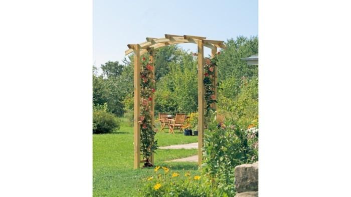 Rosenbogen Holz Hagebaumarkt ~ 46 erstaunliche Pergola Gartentor Vorschläge