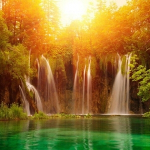 Wasserfall im Garten - mehr als 70 Ideen!