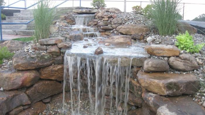 Wasserfall Im Garten Mehr Als 70 Ideen Archzine Net