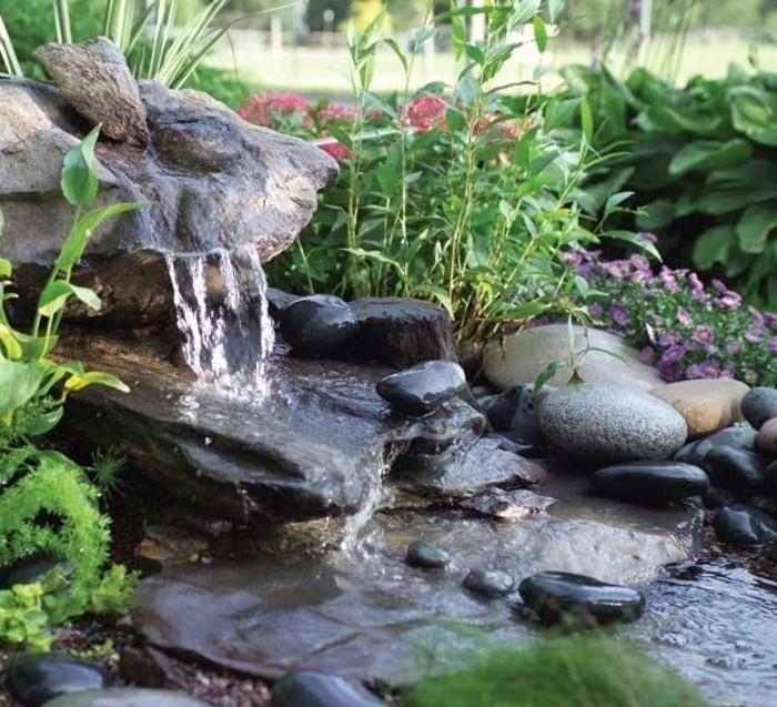 Wasserfall Im Garten Mehr Als 70 Ideen Archzinenet