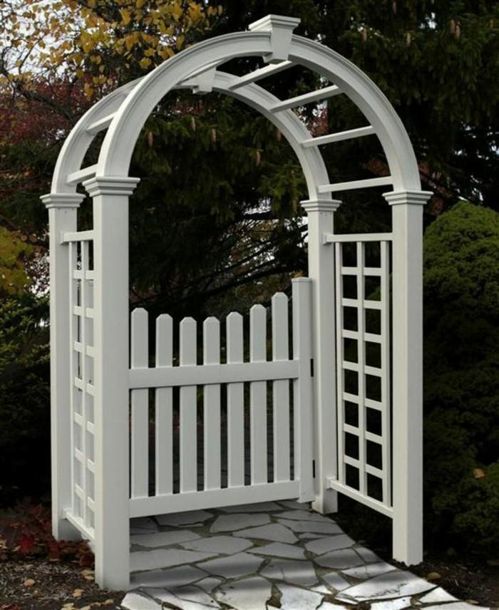 46 erstaunliche pergola gartentor vorschl ge. Black Bedroom Furniture Sets. Home Design Ideas