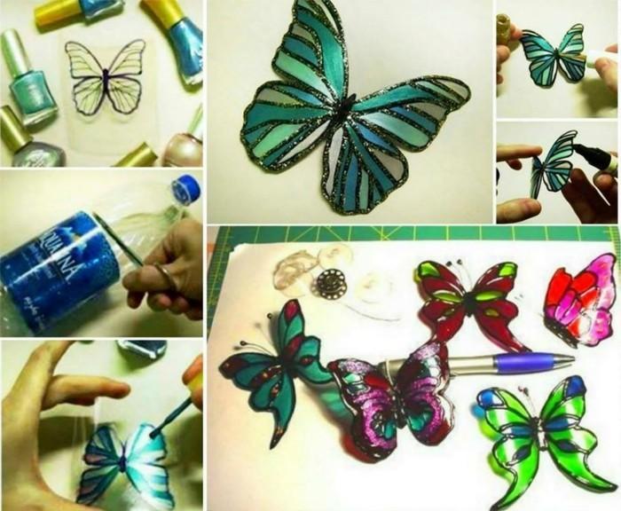 Bastelanleitung-Schmetterling-aus-einer-Flasche