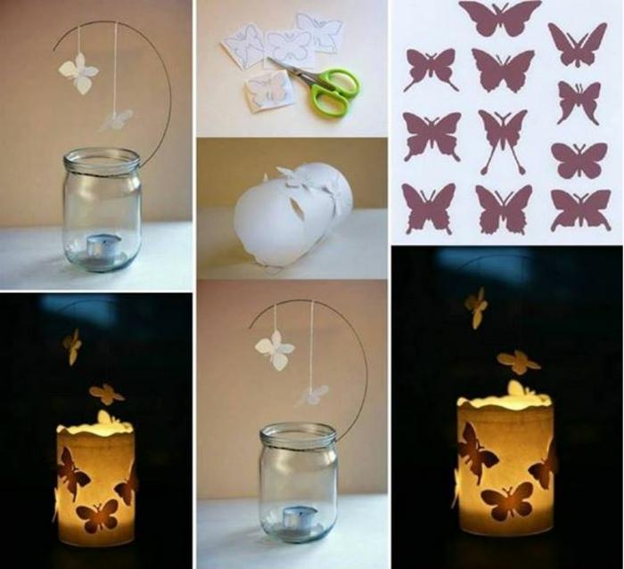 Bastelanleitung-Schmetterling-ein-Glas-mit-Verzierung