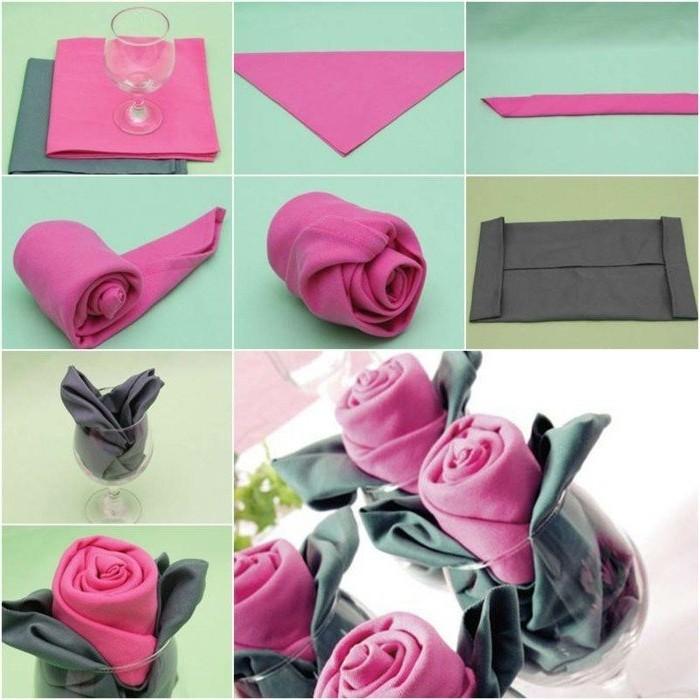 Basteln-mit-Serviettentechnik-schöne-und-einfache-Rosen