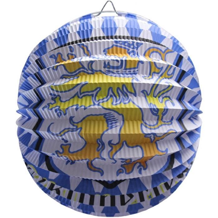 Bayrische-Deko-Lampion-Oktoberfest-mit-Wappen