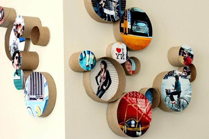 Untersetzer Aus Holz Basteln ~ 40 kreative Vorschläge, wie Sie Bilderrahmen selber bauen