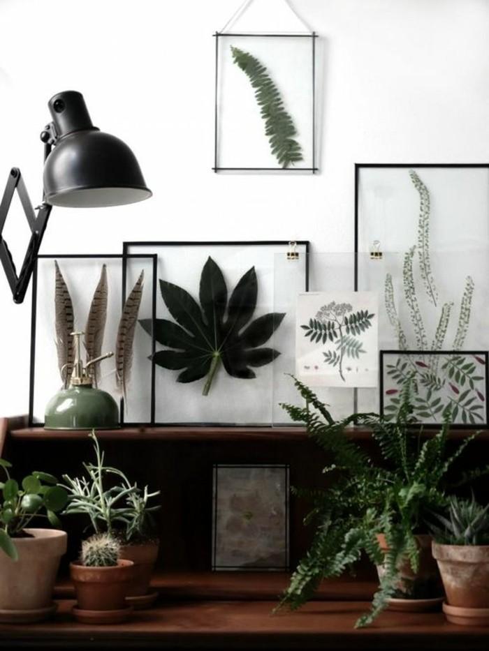 Bilderrahmen-selber-bauen-für-die-Pflanzen