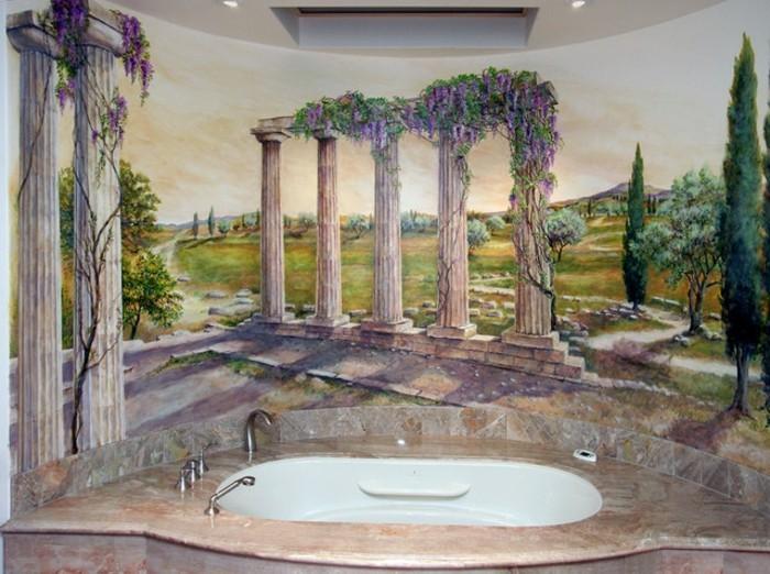 Deko-Badezimmer-wie-in-Athen
