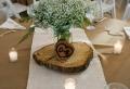 Tischdeko mit Holz – gemütliche Atmosphäre zum Feiern