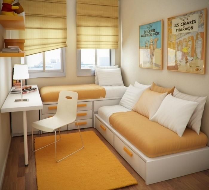 50 Ideen Für Kleines Zimmer Einrichten Und Dekorieren .