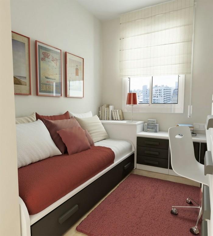 Einrichtungsideen-kleine-Räume-alles-nebeneinander